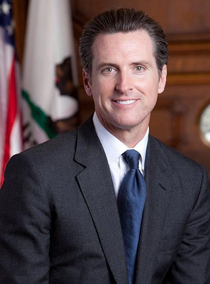 Lt. Governor Gavin Newsom