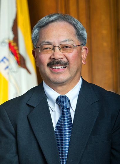 Late Mayor Ed Lee