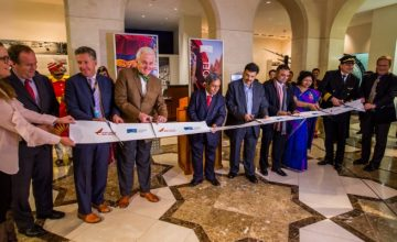 Welcoming Air India's Inaugural flight to San Francisco from Bangalore/Delhi