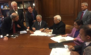San Francisco & Bangalore signs MOUs as part of the Sister City Initiative