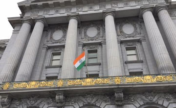 Celebration of India's 70th Independence Day at SF City Hall