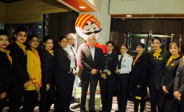 Air India's all Women crew on the Delhi-SFO-Delhi flight